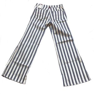 Flared Striped Pants Size 9